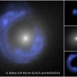 SDSSJ1430, une galaxie dans un anneau d'Einstein