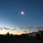 Éclipse totale de Soleil en Chine