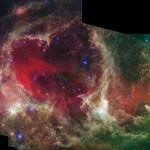 Générations d'étoiles dans W5
