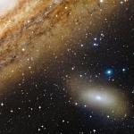 M 110, satellite de la Grande Galaxie d'Andromède