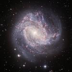 M83, la galaxie aux mille rubis