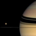 Couleurs inattendues sur Saturne