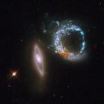 Arp 147, les galaxies du Double Anneau