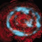 Aurores singulières au pôle nord de Saturne