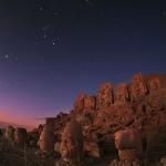 Orion à l'aube sur le Mont Nemrut -