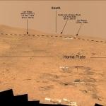 Un peu de l'esprit de Chesley Bonestell sur Mars