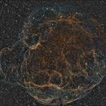 Simeis 147, tout ce qui reste d'une supernova