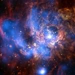 NGC 604, les rayons X d'une nursery stellaire géante