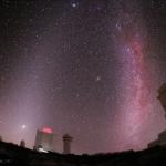 Lumière zodiacale et Voie lactée