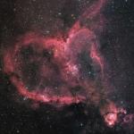 IC 1805, nébuleuse du Cœur
