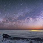 Panorama au sommet du Mauna Kea