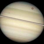 Lunes de Saturne en transit