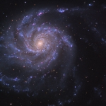 M101, galaxie spirale