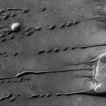 Barkhanes sur Mars