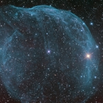 Sharpless 308, bulle cosmique