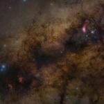 Le Sagittaire et le cœur de la Voie lactée