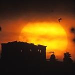 Lever de Soleil sur le Parthénon