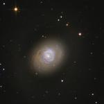 Les flambées d'étoiles de M94
