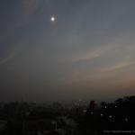 Grande éclipse sur l'immense Chine