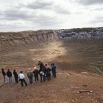 À l'intérieur du Meteor Crater Barringer