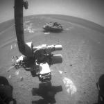 La météorite Block Island sur Mars
