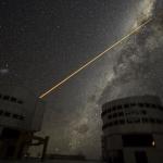 Frappe Laser en direction du Centre Galactique
