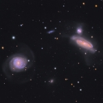 Le groupe de galaxies de NGC 7771