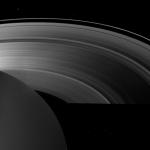Ombres de Saturne à l'équinoxe