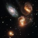 Le Quintet de Stephan revu par Hubble