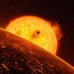 Confirmation de la découverte d'une planète rocheuse par le satellite français CoRoT