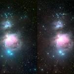 Une comète dans Orion