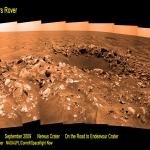 Le cratère Nereus sur Mars
