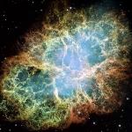 La nébuleuse du Crabe par Hubble