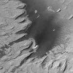 D'anciennes collines stratifiées sur Mars