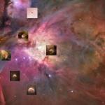 Systèmes planétaires en formation dans Orion