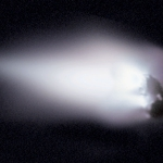 Le noyau de la comète de Halley, un iceberg dans l'espace