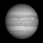 Regardez Jupiter tourner