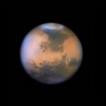 Tempête de poussière sur Mars