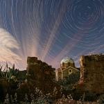 Nuages au clair de Lune en Grèce