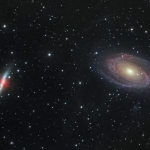 La guerre des Galaxies, M81 contre M82
