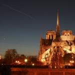 Mercure et Vénus dans le ciel de Paris