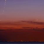 Vénus, Mercure et la Lune
