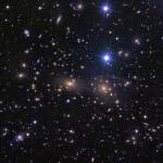 L'amas de galaxies de Coma