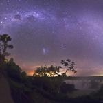Nuit étoilée à Iguazu