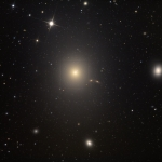 M87, galaxie elliptique d'un fort beau gabarit
