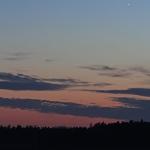 Vénus et la Lune