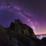 Une nuit étoilée sur l'Alamut