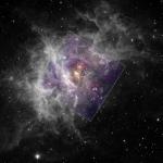 Le jeune amas d'étoiles Westerlund 2