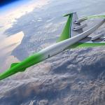 Une machine aussi supersonique que verte