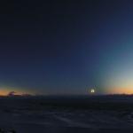 Cône d'ombre sur la Patagonie